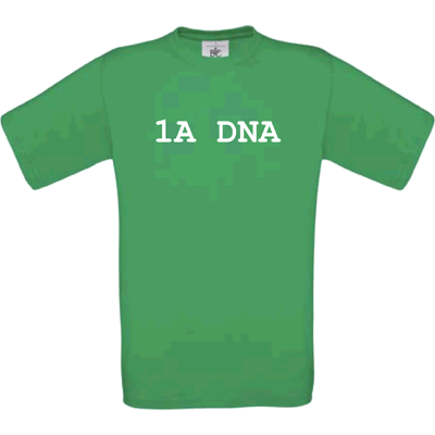 """1a DNA"" kelly green"