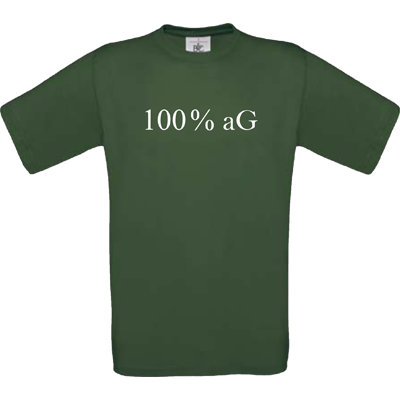 "100 % aG ""Bottle green"""