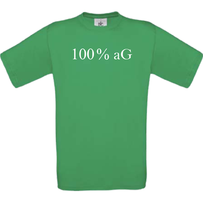 100 % aG kelly green
