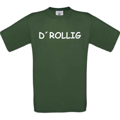 """Drollig"" bottle green"