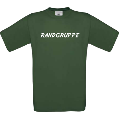 """Randgruppe"" bottle green"