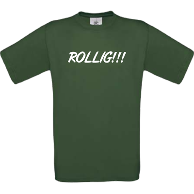 """Rollig"" bottle green"