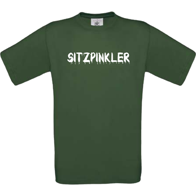 """Sitzpinkler"" bottle green"